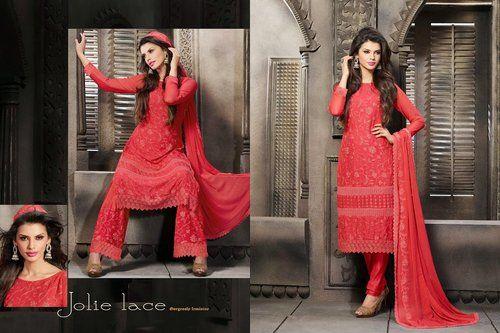 Luscious Red Salwar Kameez