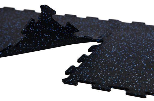 8mm Strong Rubber Tiles - Best Value Gym Floor Tile