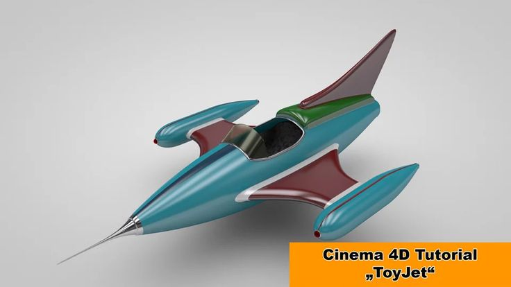 ToyJet modeling (Cinema 4D Tutorial) on Vimeo