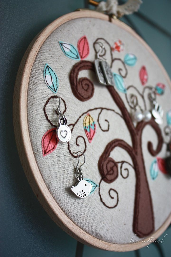1000+ Images About Embroidery Hoop Art Ideas On Pinterest | Hand Embroidery Fabrics And French ...
