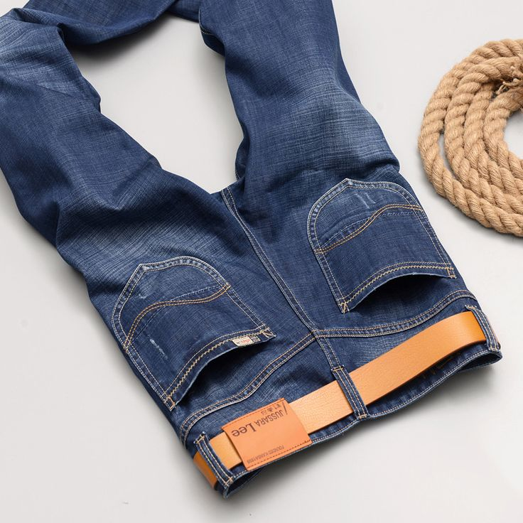 >> Click to Buy << Men jeans men's spring thin elastic light straight youth 2083 han edition cultivate one's morality #Affiliate