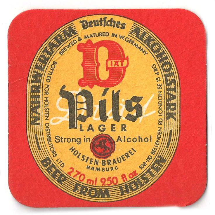 Pils Vintage Beer Mat