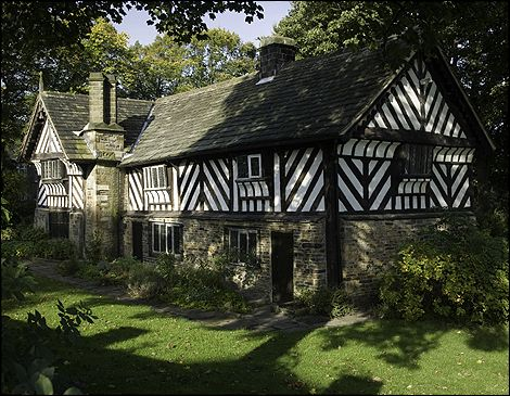 Bishops' House is in the Norton Lees area of Sheffield, at the southern tip of Meersbrook Park. It was built around 1500 but the first known owner is William Blythe in 1627. The house has been a museum since 1976. Photo © Mike Williams.