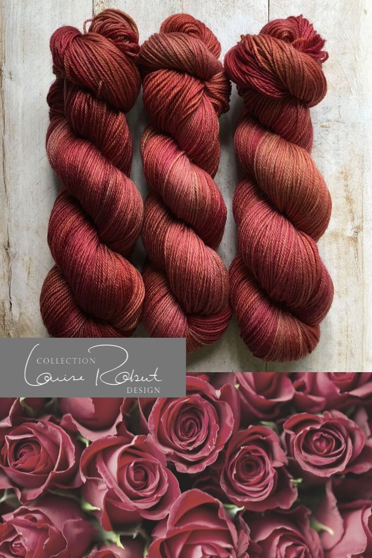 IMPÉRATRICE by Louise Robert Design | SUPER SOCK hand-dyed semi-solid yarn