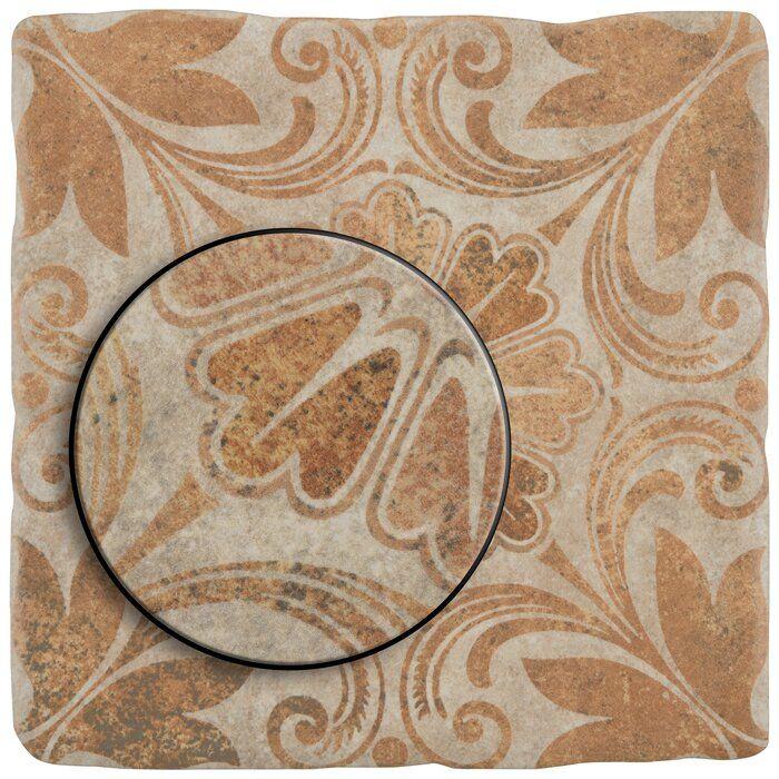 Diego Decor Dahlia 8 X 8 Ceramic Field Tile Decor Ceramics Tiles