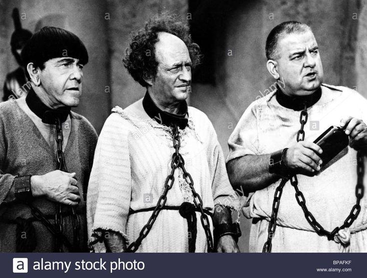 Moe Howard Larry Fine & Joe Derita The Three Stooges Meet Hercules ...