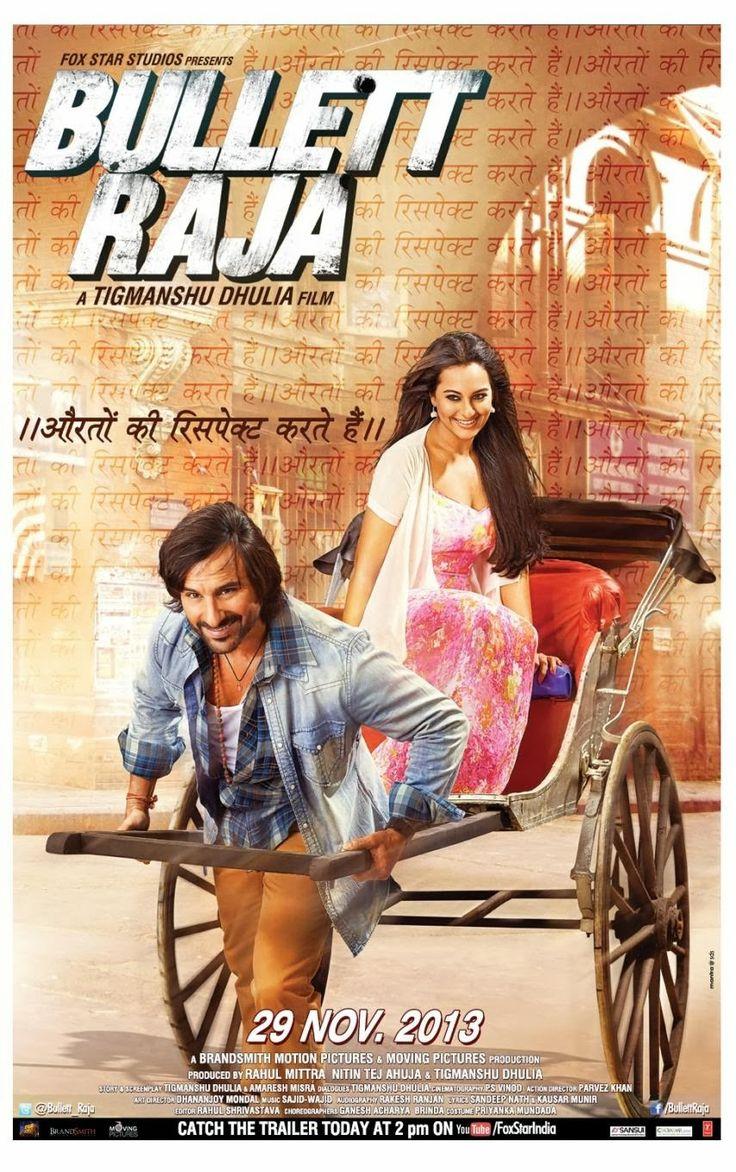 Saif Alia Khan|Sonakshi Sinha|Vidya Jamal - Bullet Raja Theatrical Trailer and Poster.