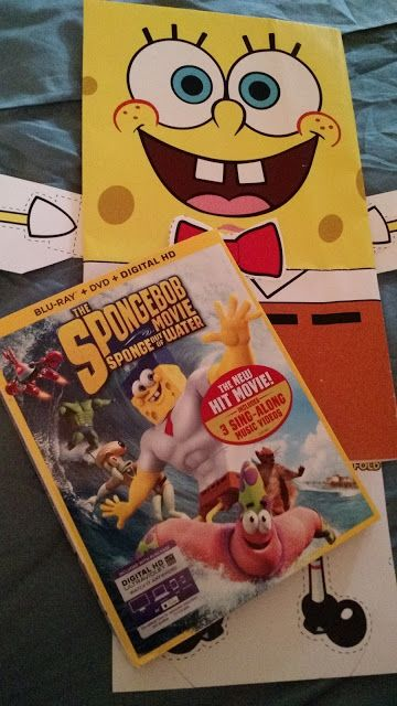 1 DAY LEFT TO ENTER TO WIN @SpongeBobMovie: Sponge Out of Water Blu-ray Combo Pack http://ow.ly/Nwzqi #SummerofSpongeBob GIVEAWAY ENDS 6/2 at NOON EST