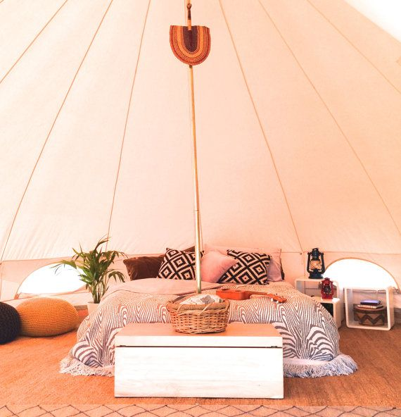 Vintage Bell Tent Style Classical Sibley by BreatheBellTents