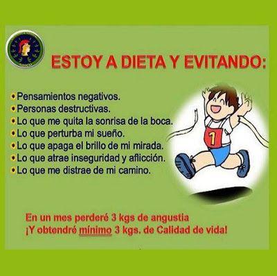Estoy a Dieta Evitando: #Frases_de_pensamientos_negativos
