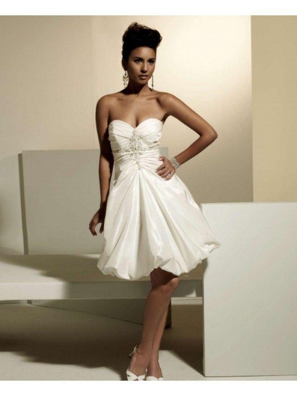 discount short wedding dresses