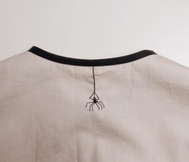spider embroidery, lieschen mueller