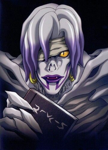 Death note- Rem is he a male or female cuz I've been told both? I thought he was a guy