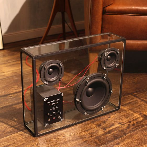 According to the specialist publication boffins who should know what they're waffling on about, the innards of this set-up produce top-notch sound quality as well as looking rather lovely...