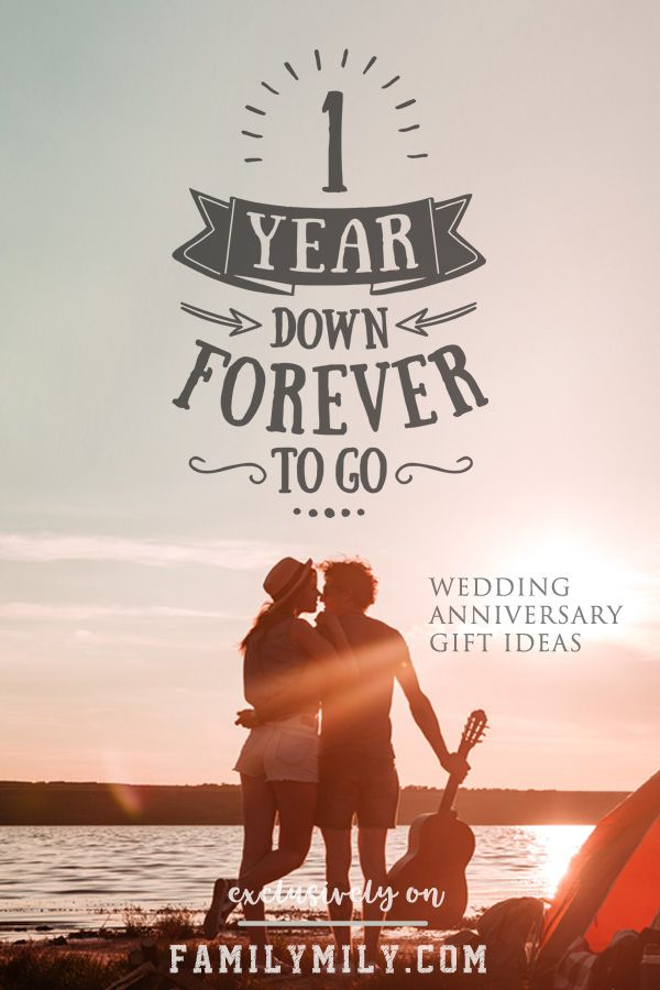 1st Wedding Anniversary Gift Ideas With The Phrase 1 Year Down Forever To Go Check Whole Collection Free Delivery On Eligible Purchases