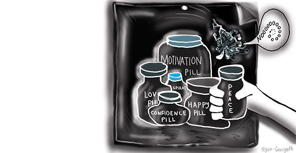 In my last article (find it here), I was talking about positive affirmations and how they can create negative thoughts – the Superbug! Did you notice that little voice piping up where you didn't realise it before? What if I told you I had a quick fix, a magic pill that could take the negative...