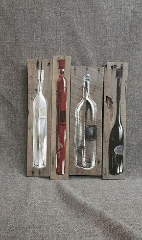 30 best images about peinture sur bois on pinterest for Peinture sur bois