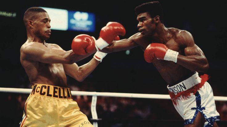 Gerald McClellan, Julian Jackson, boxing