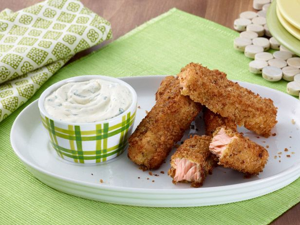 Parmesan Fish Sticks Recipe : Giada De Laurentiis : Food Network