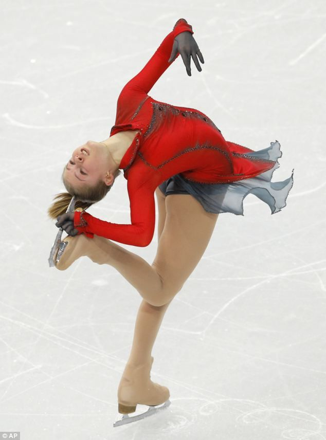 Julia Lipnitskaia, 15-year-old figure skater touched so many hearts