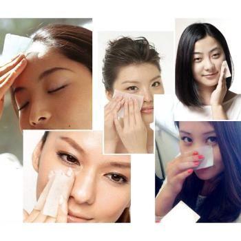Facial Oil Absorbent Control Film Blotters Blotting Paper Tissue 100 Sheets