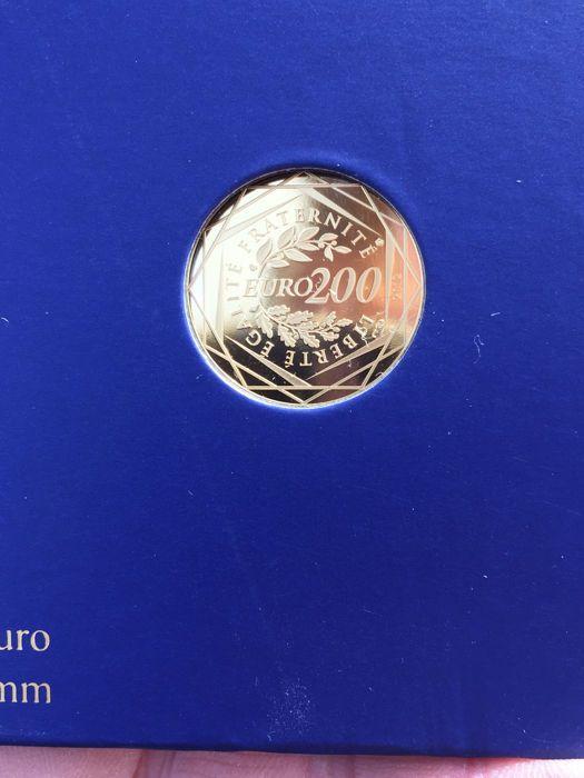 Frankrijk - 200 euro goud / gouden munt - regio's in Frankrijk 2012 - In geval met certificaat  EUR 141.00  Meer informatie