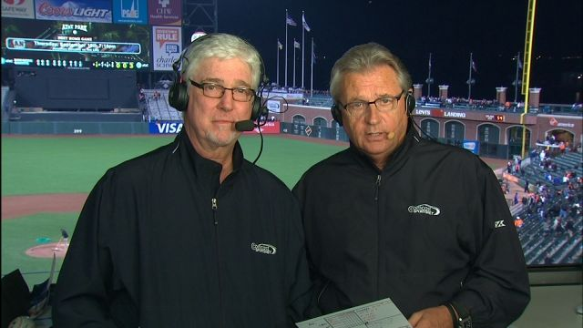 Kruk and Kuip. It's just not a ball game without them