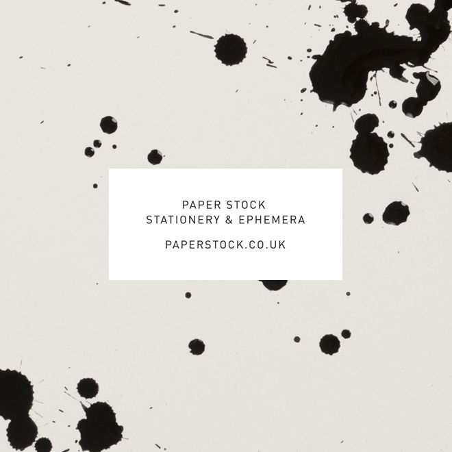 paperstock stationary & epherma designed by sarah thorne.