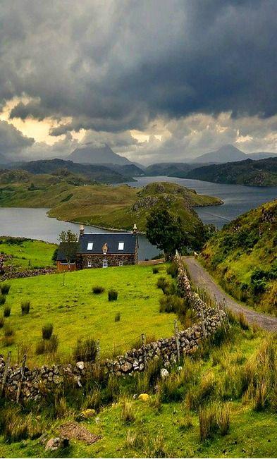 ~ Wonderful moody Scottish weather, Highlands ~ #Travel #Scotland