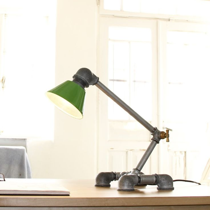 kozo lighting. Kozo 33 Iron Pipe Desk Lamp By Handmade Industrial Chic Lighting Design
