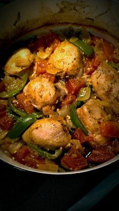 Savory, mouth watering Chicken thighs in the dutch oven! So good!!!