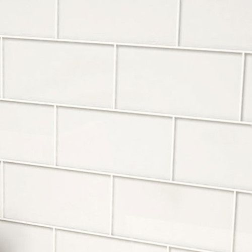 """Found it at Wayfair - 3"""" x 6"""" Glass Subway Tile in Bright White"""