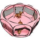 """OxGord 45"""" Pet Dog Cat Playpen Tent Portable Exercise Fence Kennel Cage Crate"""