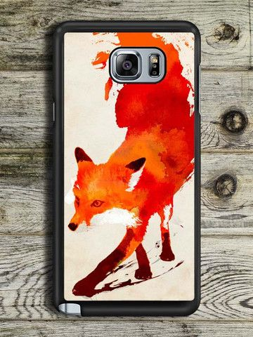 Abstract Painting Fox Samsung Galaxy Note 5 Case
