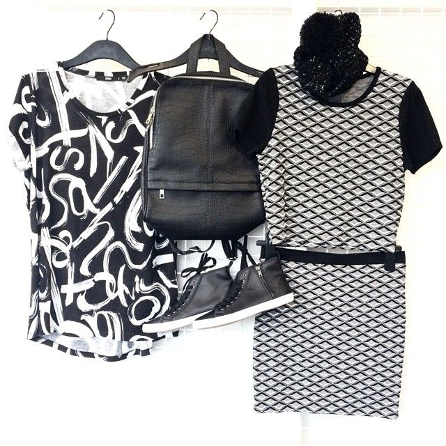 Monochrome vibes at SGHQ today. #monochrome Follow us on Instagram: http://instagram.com/sportsgirl