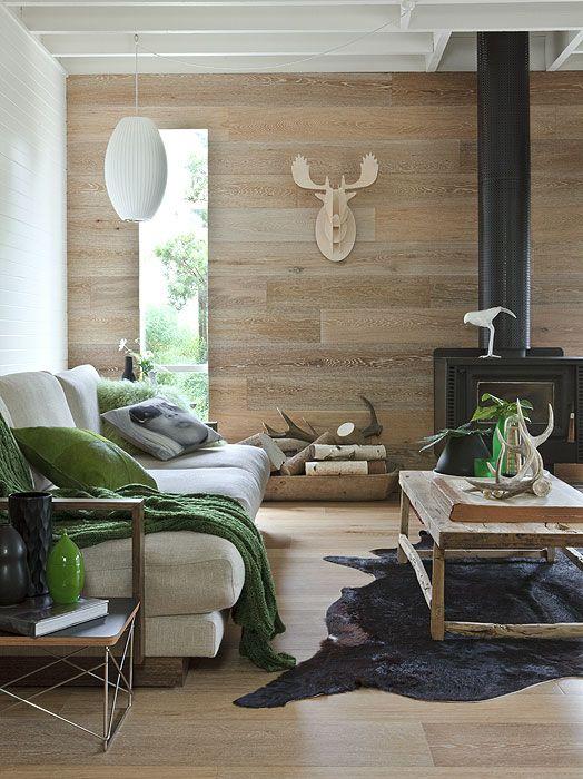 Smoked & Limed American Oak floors and walls by Royal Oak Floors. www.royaloakfloors.com.au Photo & Interiors: Doswell & McLean