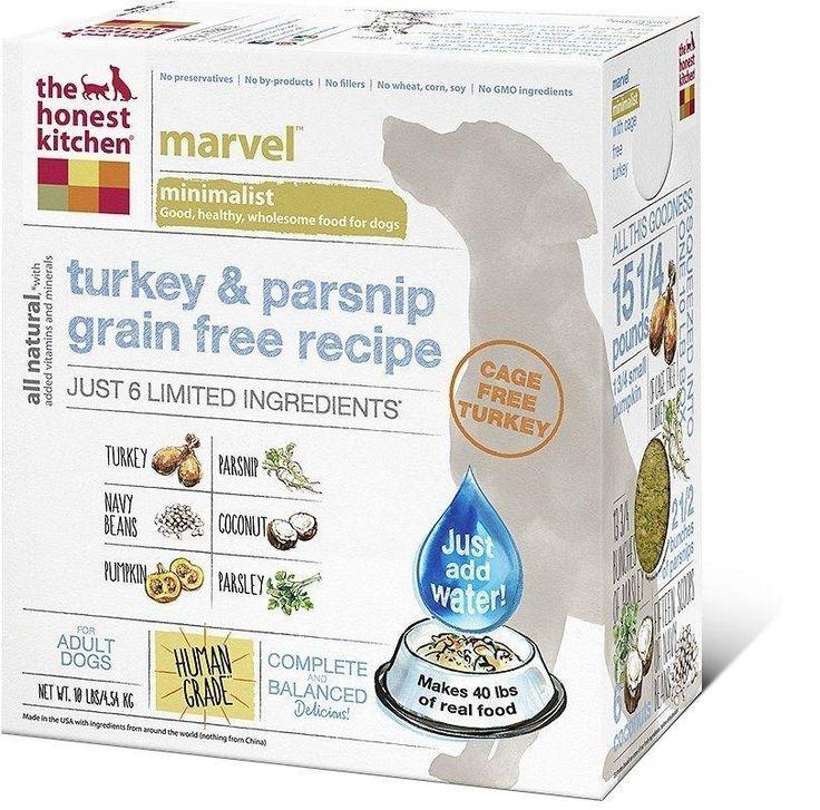 The Honest Kitchen MARVEL Limited Ingredient Grain Free Turkey Dehydrated Dog Food