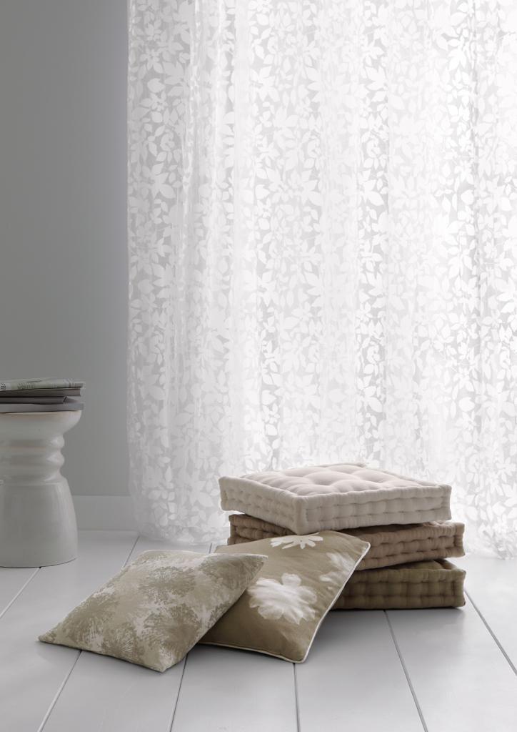 Stoffe für #Gardinen Wir zeigen unsere Top 8 #Dekoideen fürs - Raffrollo Für Wohnzimmer