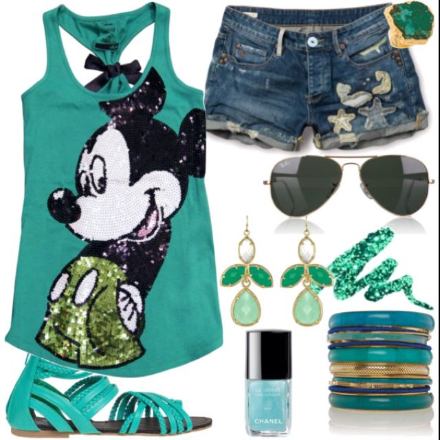 Disney fun :) I need that for the summer.