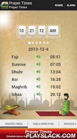 Worldwide Muslim Prayer Times  Android App - playslack.com , ★★★★★ FREE Download Worldwide Muslim Prayer Times App – Most Accurate Prayer Timetable for Worldwide Islamic Prayers! ★★★★★ ★ Prayer Times Setting (Islamic University Karachi, Islamic Society of North America, Muslim World League, Umm al-Qura Makkah, Egyptian General Authority, University of Tehran)★ Completed 2014 prayer calendar ★ Find nearby mosques ★ Get direction to mosques ★ No internet connection required to view daily…