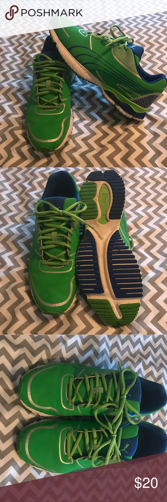Men's Puma Running Shoes Men's Puma Running Shoes - Size 12. These have been worn, but have a lot of life left!!!!!! Puma Shoes Athletic Shoes