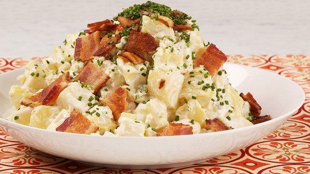 Fully Loaded Potato Salad