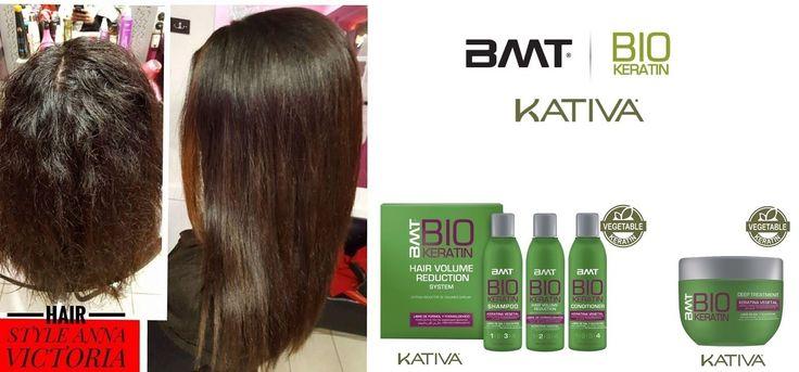 BMT BIO KERATIN,Κατάλληλη για κάθε τύπο μαλλιών(φυσικά,βαμμένα,ξανθά,ταλαιπωρημένα,κ.λ.π.). Η εξέλιξη και η καινοτομία της θεραπείας Κερατίνης, με την πιο εξελιγμένη τεχνολογία λείανσης.Χωρίς φορμαλδεΰδη, περιέχει κερατίνη λαχανικών, μοναδικό στην αγορά. ΠΡΟΣΟΧΗ ΣΤΙΣ ΑΠΟΜΙΜΗΣΕΙΣ!!! Οί αυθεντικές θεραπείες Κερατίνης έχουν όνομα KATIVA NATURAL και είναι Νο1 ΠΑΓΚΟΣΜΙΩΣ! Οί δικές σας φωτογραφίες! Κομμωτήριο HAIR STYLE Anna Victoria
