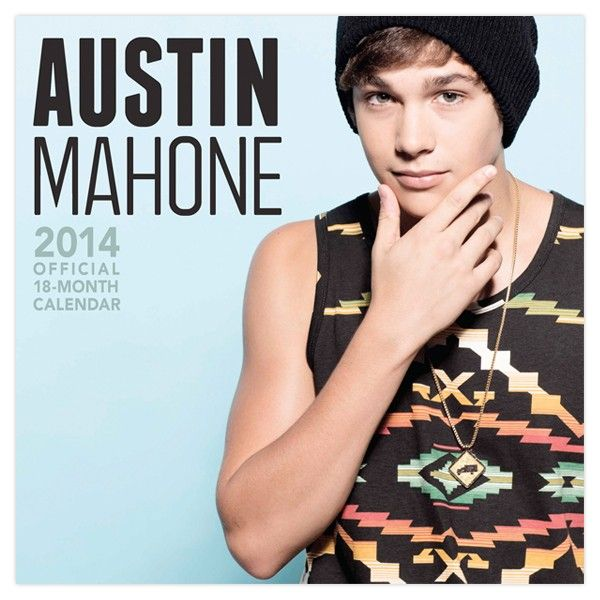 Austin Mahone 2014 Calendar OMG WANT THISS ^-^ :3 <3