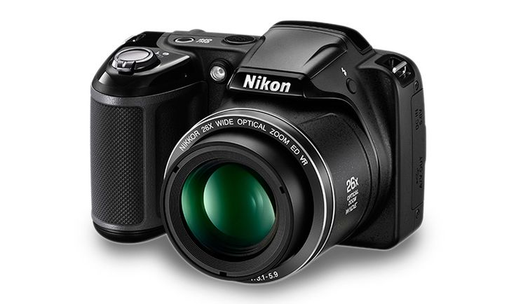 Nikon Digital Camera L330 Black & Coolkit - Compact cameras
