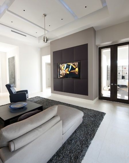 8 best Tv wall images on Pinterest Tv feature wall Tv walls and