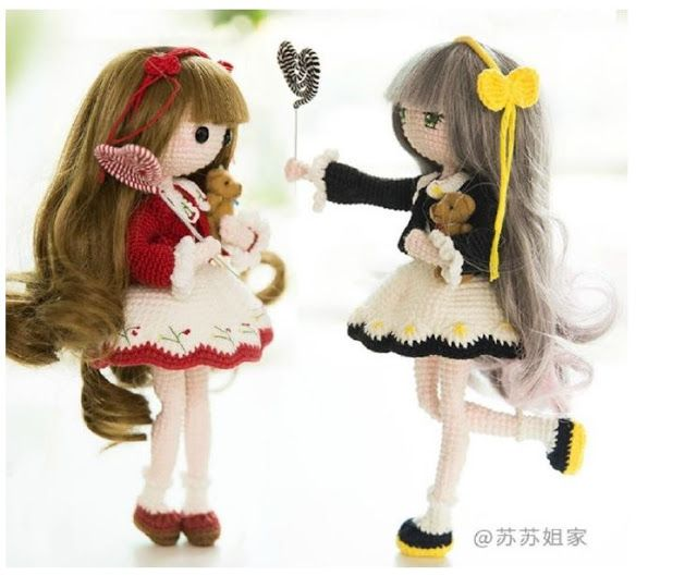 Amigurumi Doll Gratuit : 12 best narİn bebek yapimi images on pinterest tricot amigurumi