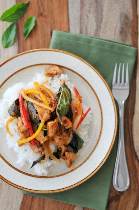 8 best thai main dish recipes images on pinterest thai recipes chicken with roasted chili paste and basil basil recipesthai recipesentree forumfinder Gallery