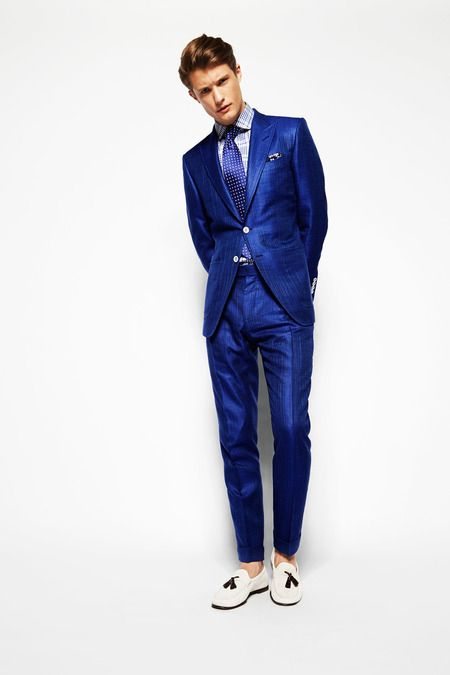 Tom Ford Spring 2014 Menswear Collection Slideshow on Style.com