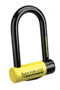 U Lock - Kryptonite 997986 Black 18mm New York Bicycles and Motorcycles www.thebestpadlock.com